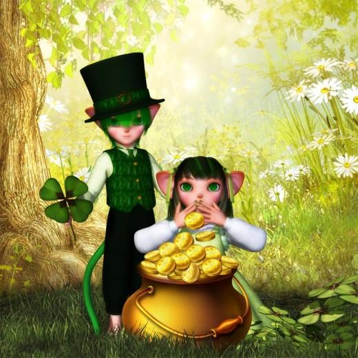 Happy Saint Patrick's Day WordPress Theme Images