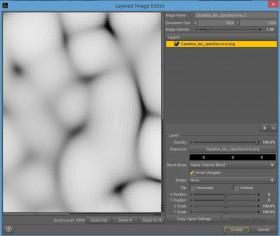 Screenshot of how to invert my water caustics pattern using the Layered Image Editor.