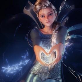 How to Create Frozen's Queen Elsa in Daz Studio