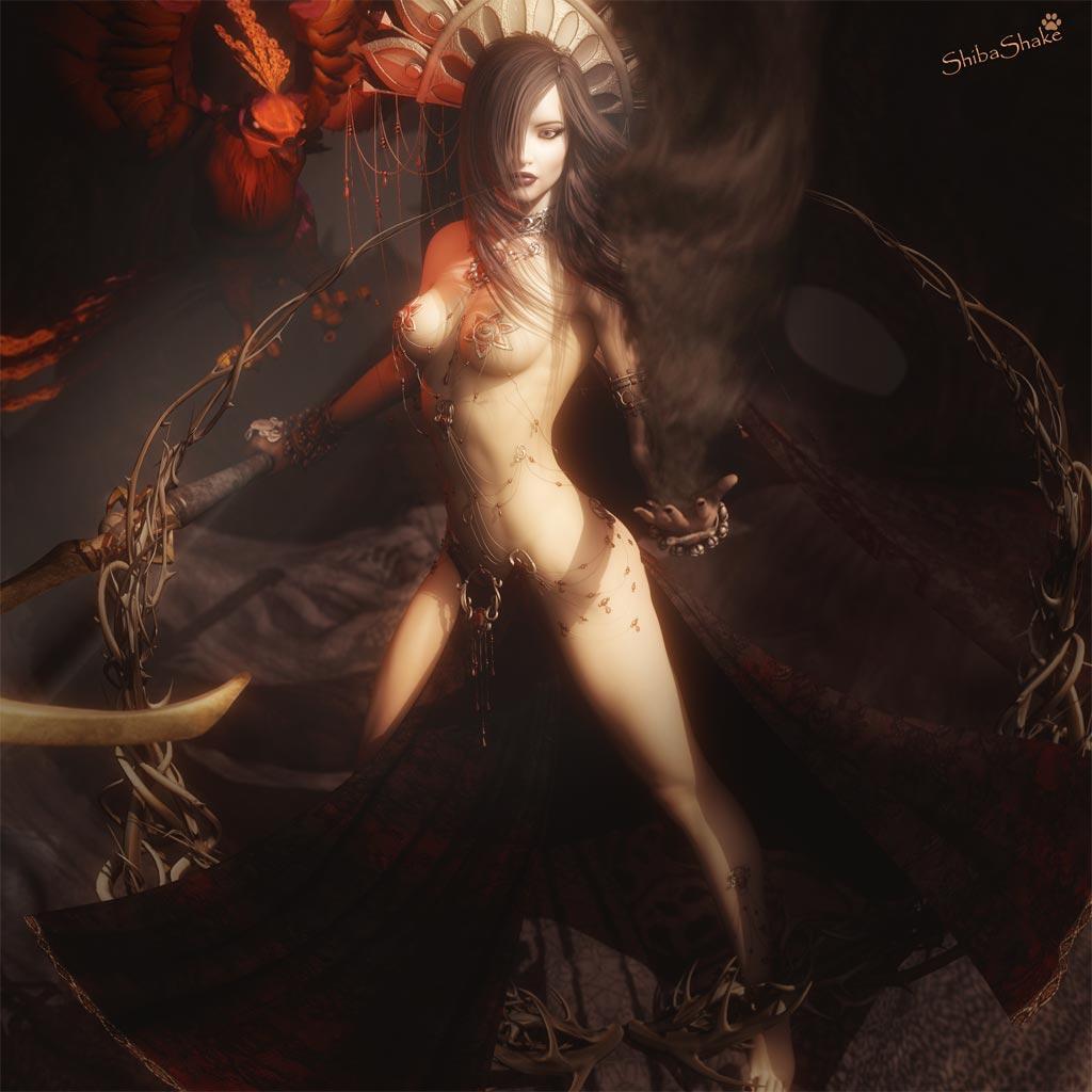 3d evil sex queen hardcore 4