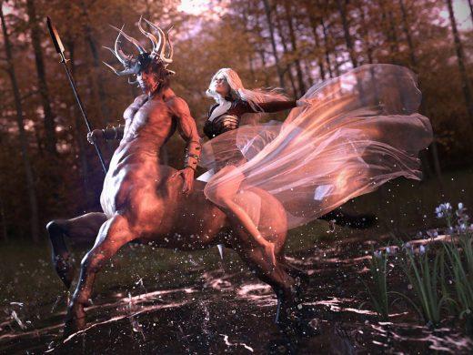 Item used: Centaur 7 for Genesis 3 Male