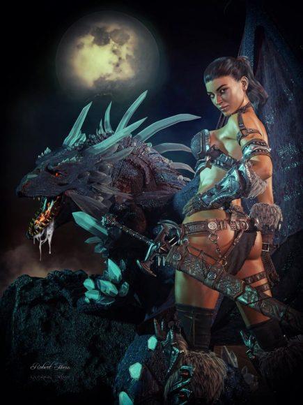 Qualifying items used – Crystal Dragon for DAZ Dragon 3
