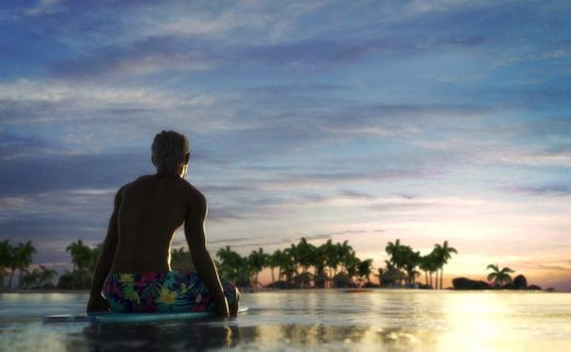 Qualyfying product dForce Swim Shorts for Genesis 8 male