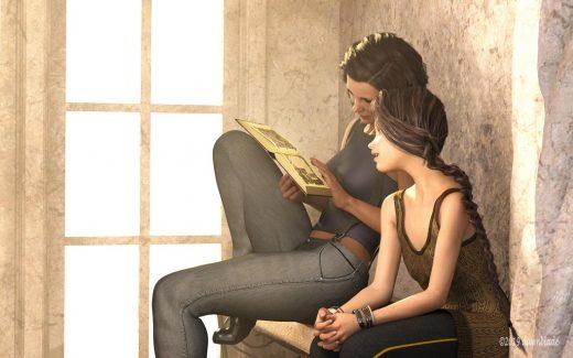 Shiba qualifying item: Sacred Texts by Merlin Studios.